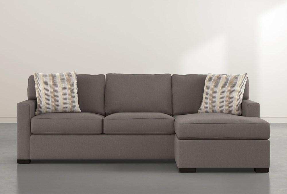 Taren II Reversible Sofa Chaise With Storage Ottoman
