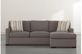 Taren II Reversible Sofa Chaise With Storage Ottoman