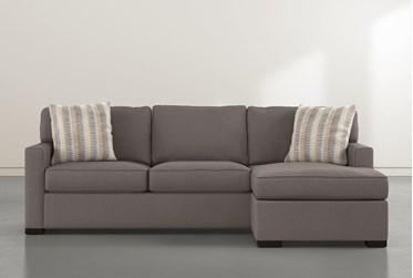 "Taren II 97"" Reversible Sofa Chaise With Storage Ottoman"