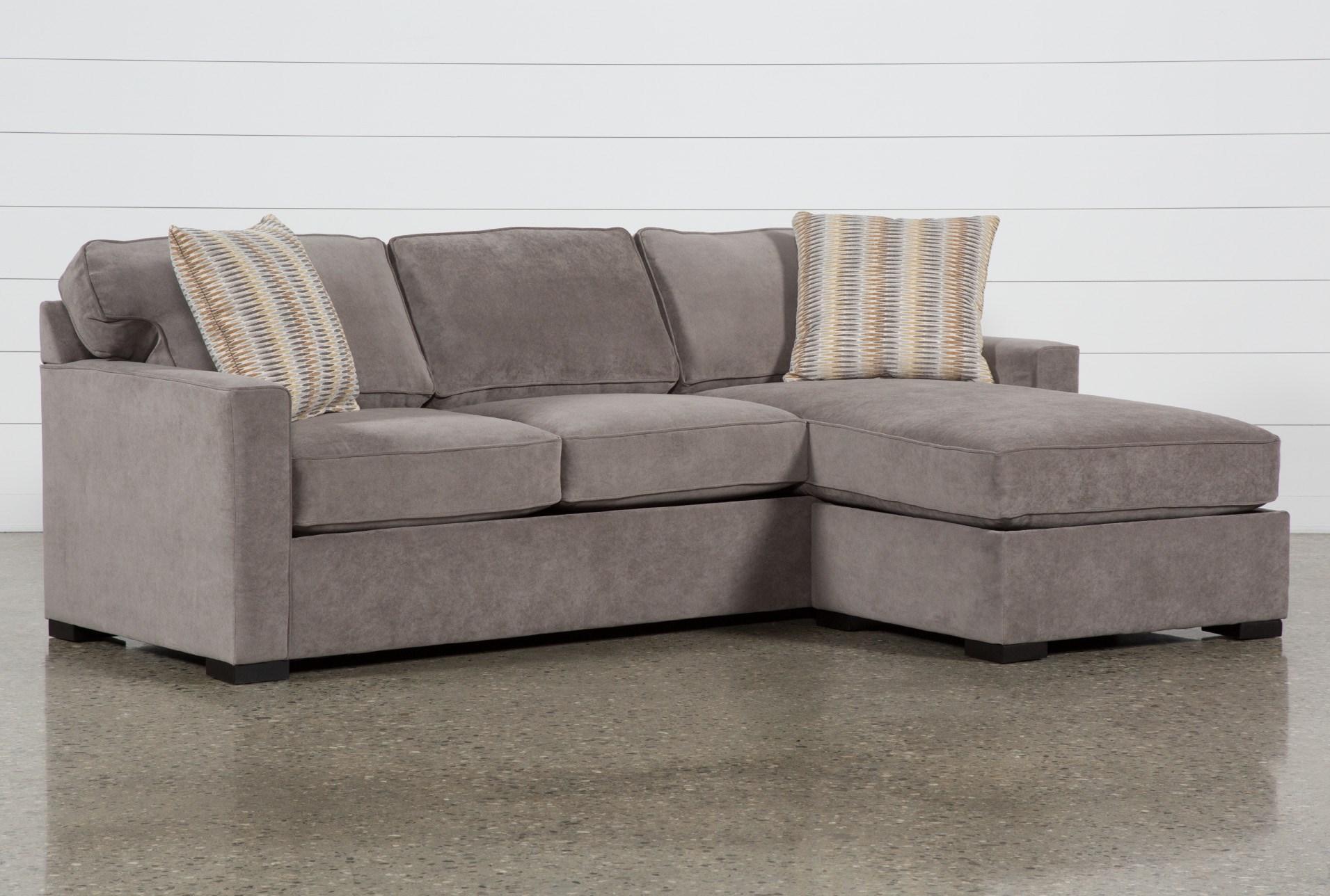 Taren Ii Reversible Sofa Chaise Sleeper W Storage Ottoman Living