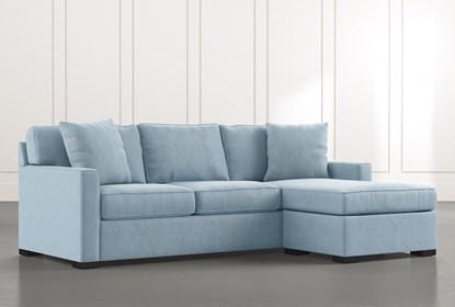 Taren Ii Light Blue Reversible Sofa