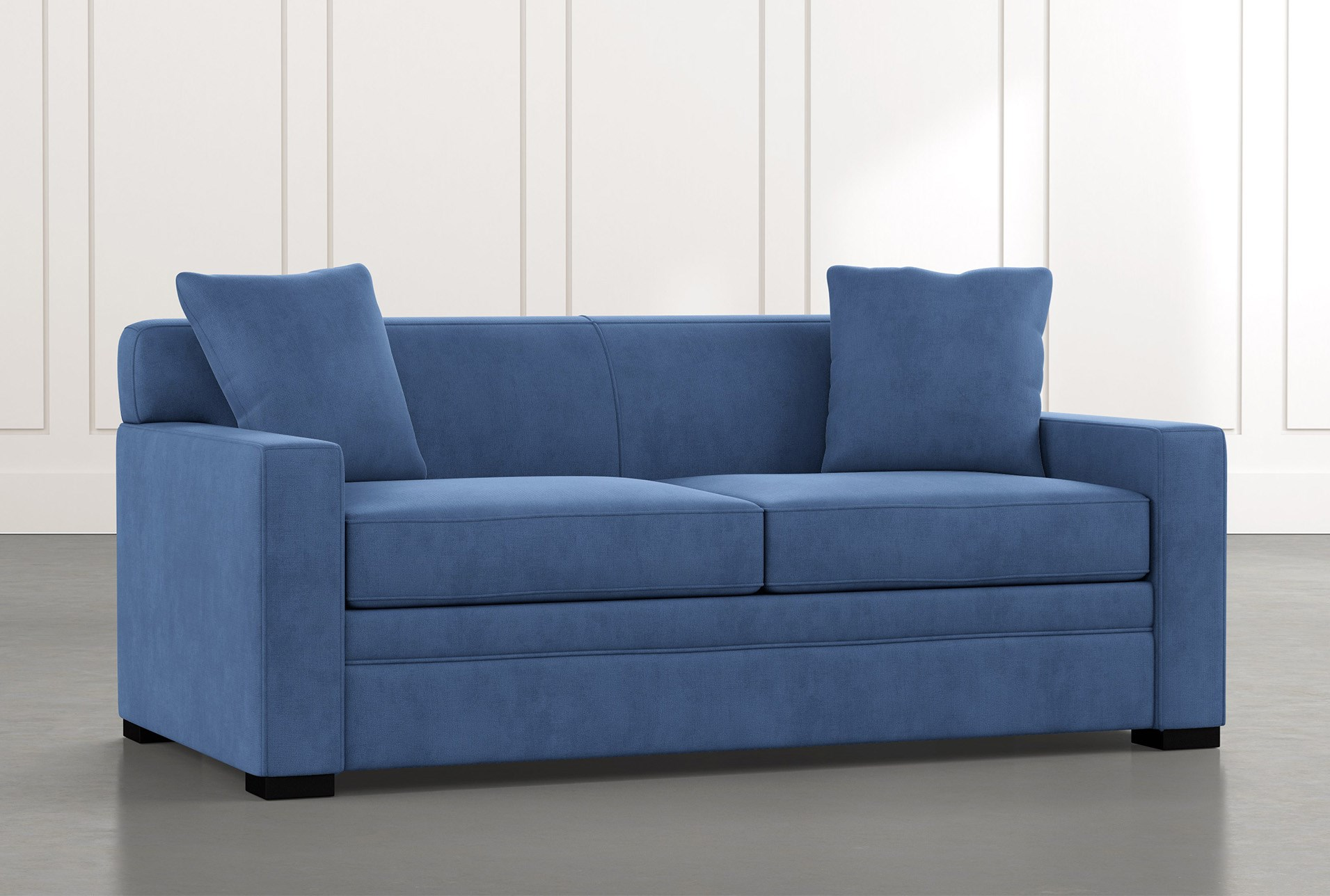ethan iii blue memory foam full sleeper