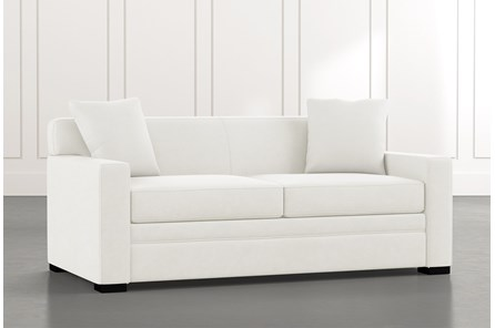 Ethan III White Memory Foam Full Sleeper