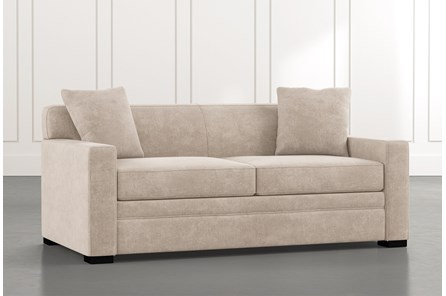 Ethan III Beige Memory Foam Full Sleeper