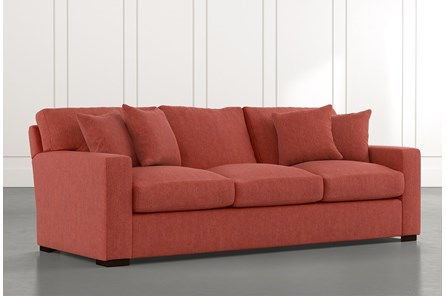 Mercer Foam II Red Sofa