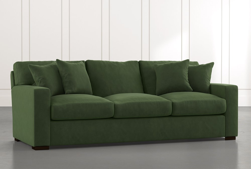 Mercer Foam II Green Sofa