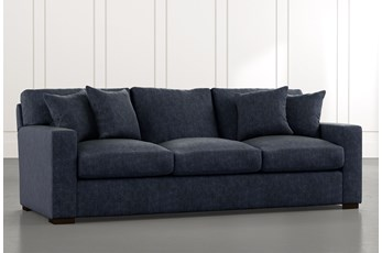 Mercer Foam II Navy Blue Sofa