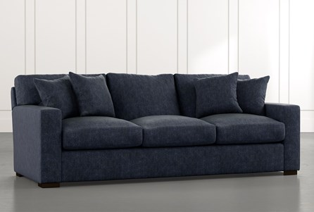 Mercer Foam II Navy Blue Sofa