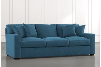Mercer Foam II Teal Sofa