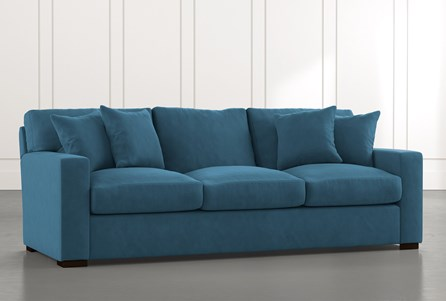 Mercer Foam II Teal Sofa