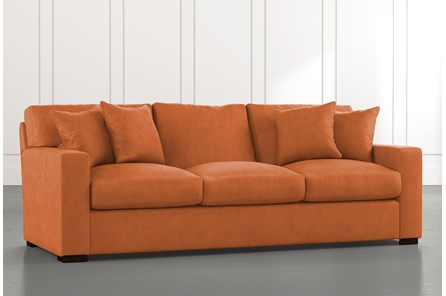 Orange Sofas & Couche - Free Assembly with Delivery | Living Spaces
