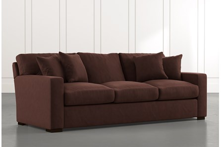 Mercer Foam II Brown Sofa