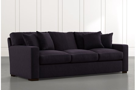 Mercer Foam II Black Sofa - Main