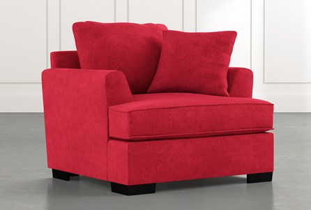 Burke Red Chair
