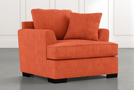 Burke Orange Chair