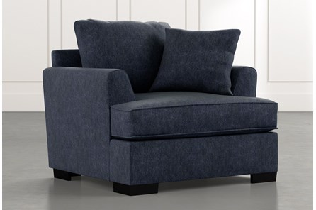 Burke Navy Blue Chair