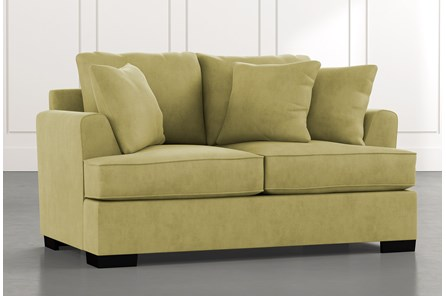 Burke Green Loveseat