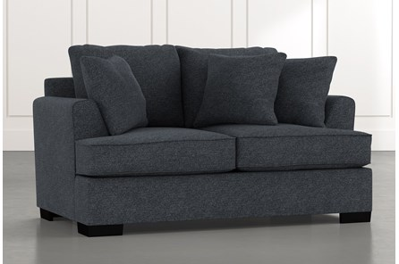 Burke Black Loveseat
