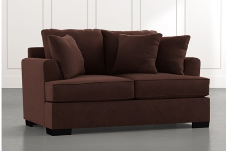 Burke Brown Loveseat
