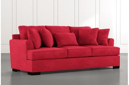 Burke Red Sofa