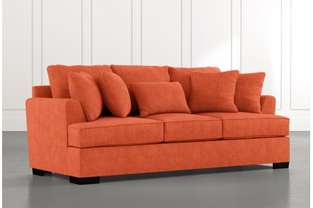 Burke Orange Sofa