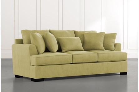 Burke Green Sofa