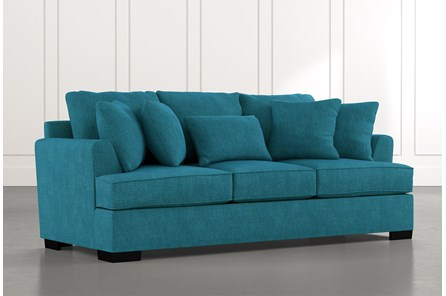 Burke Teal Sofa
