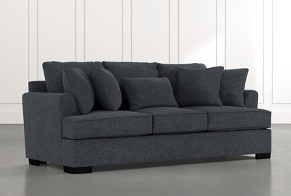 Burke Black Sofa