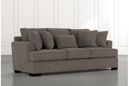 Burke Dark Grey Sofa