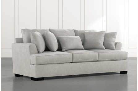 Burke Light Grey Sofa