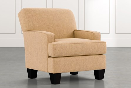 Burke Yellow Accent Chair