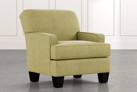 Burke Green Accent Chair