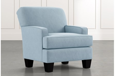 Burke Light Blue Accent Chair
