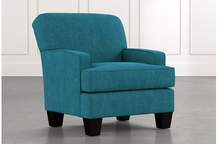 Burke Teal Accent Chair