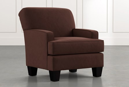 Burke Brown Accent Chair