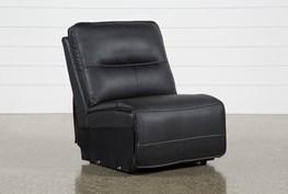 Marcus Black Armless Chair