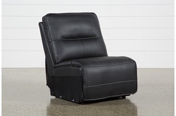 Marcus Black Armless Chair