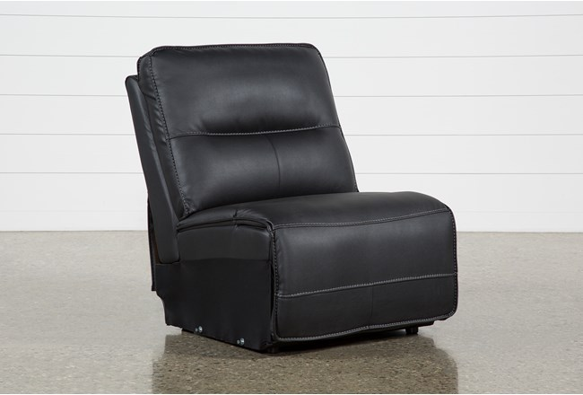 Marcus Black Armless Chair - 360