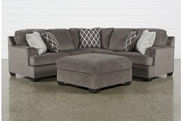 Devonwood 2 Piece Sectional W/ Laf Loveseat and Ottoman
