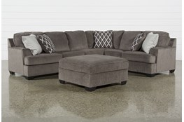 Devonwood 3 Piece Sectional W/ Laf Loveseat and Ottoman
