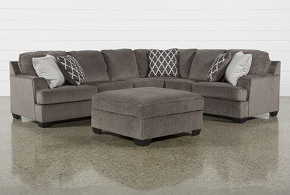 Excellent Devonwood 3 Piece Sectional W Laf Loveseat And Ottoman Gmtry Best Dining Table And Chair Ideas Images Gmtryco