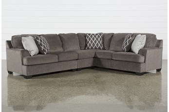 "Devonwood 3 Piece 128"" Sectional with Left Arm Facing Loveseat"