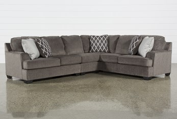 """Devonwood 3 Piece 128"""" Sectional with Left Arm Facing Loveseat"""