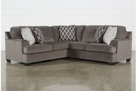 Devonwood 2 Piece Sectional with Left Arm Facing Loveseat
