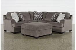 Devonwood 2 Piece Sectional W/ Raf Loveseat and Ottoman