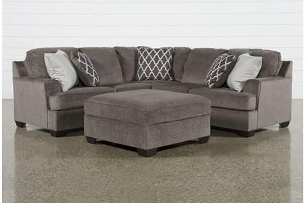 Devonwood 2 Piece Sectional W/ Raf Sofa and Ottoman
