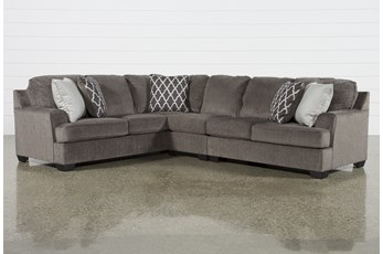 "Devonwood 3 Piece 128"" Sectional with Right Arm Facing Loveseat"