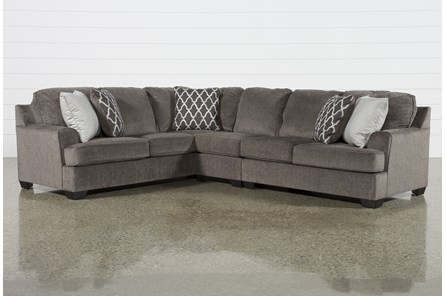 Devonwood 3 Piece Sectional with Right Arm Facing Loveseat