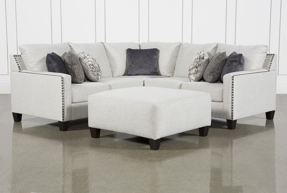 Chappell 2 Piece Sectional With Left Arm Facing Loveseat and Ottoman