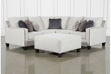 Chappell 2 Piece Sectional With LAF Sofa and Ottoman
